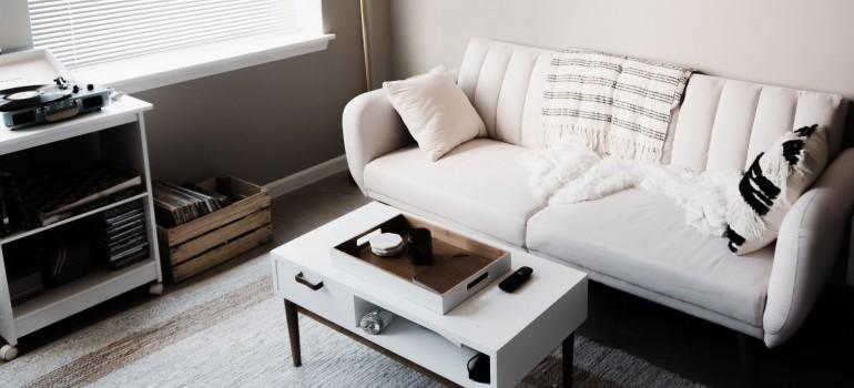a cozy living room