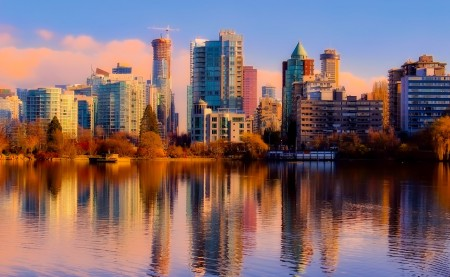 a photo of Vancouver - move to Vancouver alone