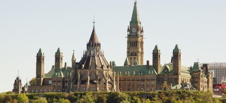 Ottawa's parliament.